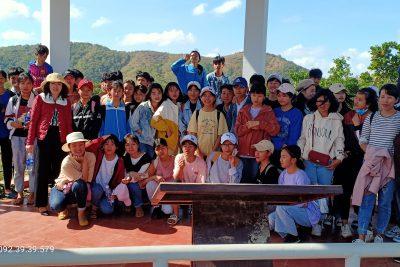 Tổ chức trải nghiệm thực tế tại Công viên địa chất Đăk Nông