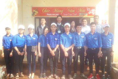 Thăm, trao tặng quà tết tại xã Thuận Hà