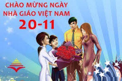 KH Tổ chức SHCĐ chào mừng ngày NGVN 20.11