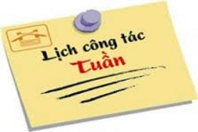 Lịch CT Tuần 23 (09-14/3)