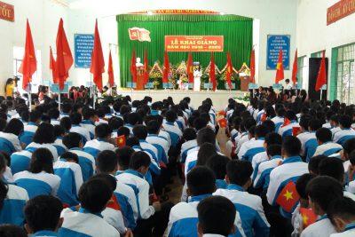 Tổ chức Lễ khai giảng năm học 2019-2020