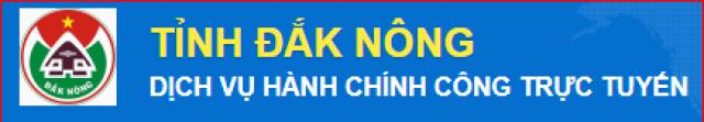 Dịch vụ hành chính công trực tuyến tỉnh Đăk Nông