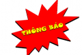 TB về việc nộp hồ sơ xét miễn, giảm các khoản đóng góp